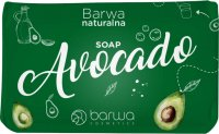 COLOR - NATURAL COLOR - Nourishing and moisturizing hand and body soap bar - Avocado - 100 g