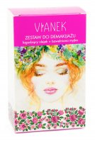 VIANEK - Make-up removal kit - Oil 150 ml + Cotton washcloth