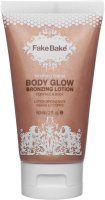 Fake Bake - Bronzy Babe - Body Glow Bronzing Lotion - Brightening and moisturizing face and body lotion - Tinted - 60 ml