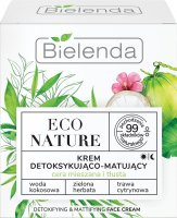Bielenda - ECO NATURE - DETOXIFYING & MATTIFYING FACE CREAM - Detoxifying and matting face cream (combination and oily skin) - 50 ml