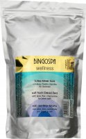 BINGOSPA - Wellness - Salt from Dead Sea - Bath salt from the Dead Sea with aloe, flax and chamomile - 1000 g