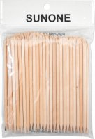 SUNONE - WOODEN STICKS - A set of wooden sticks for manicure - 100 pieces