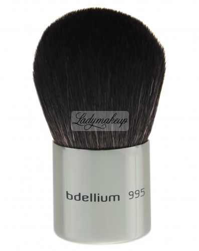 Bdellium tools - Studio Line - Kabuki - Powder, foundation, bronzer and blush brush - 995U