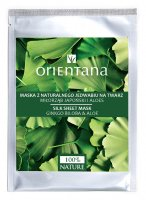 ORIENTANA - Natural silk face mask - Ginkgo biloba and aloe vera