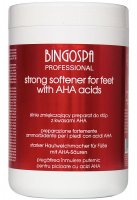 BINGOSPA - Strong Softener for Feet - Strongly softening foot preparation with AHA acids - 1000 g