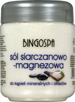 BINGOSPA - Salt And Magnesium Sulphate - Sulfate and magnesium salt for mineral baths and wraps - 600 g