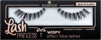 Essence - Lash Princess Wispy Effect False Lashes - Artificial eyelashes on a strip with glue