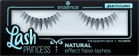 Essence - Lash Princess Natural Effect False Lashes - Artificial eyelashes on a strip with glue