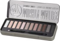 W7 - MIGHTY MATTES - NATURAL NUDES - MATTE EYE COLOR PALETTE - Palette of 12 matte eyeshadows