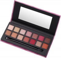 W7 - DELICIOUS - NATURAL & BERRY - PRESSED PIGMENT PALETTE - Palette of 14 eyeshadows