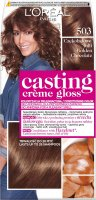 L'Oréal - Casting Créme Gloss - Golden Chocolate - Caring without ammonia - 503 Chocolate Toffee