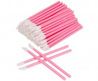 Clavier - Set of velor applicators for lip gloss or lipstick - Blush - 50 pieces