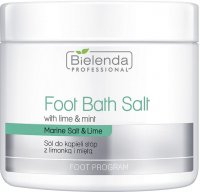 Bielenda Professional - Foot Bath Salt - Foot bath salt with lime and mint - 600 g