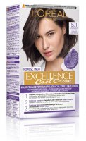 L'Oréal - EXCELLENCE Cool Creme - 5.11 Ultra Ash Light Brown - Cream coloring with advanced, triple protection - Ultra Ash Light Brown