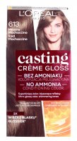 L'Oréal - Casting Créme Gloss - Caring color without ammonia - 613 Frosty Mochaccino
