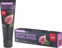 SPLAT - PROFESSIONAL SENSITIVE WHITE TOOTHPASTE - Toothpaste reduction of hypersensitivity and gentle whitening - 125 g