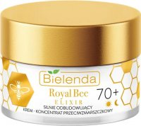 Bielenda - Royal Bee Elixir - Strongly rebuilding anti-wrinkle cream-concentrate - 70+ Day / Night - 50 ml