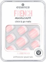 Essence - FRENCH Manicure Click & Go Nails - Artificial nails - 01 CLASSIC FRENCH