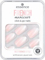 Essence - FRENCH Manicure Click & Go Nails - Artificial nails - 02 BABYBOOMER STYLE