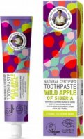 Agafia - Recipes Babuszki Agafii - Natural Toothpaste - Wild Apple of Siberia - Natural toothpaste - Wild Apple from Siberia - 85 g