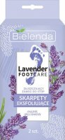 Bielenda - LAVENDER FOOT CARE - Exfoliating foot treatment - Exfoliating socks with urea and lavender oil - 1 pair