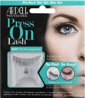 ARDELL - Press On Lashes - False eyelashes with applicator strip and adhesive