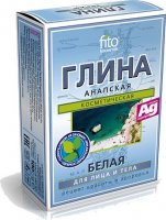 Fito Cosmetic - Anapska, white cosmetic clay for face, body and hair - 100 g