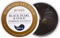 PETITFEE - Black Pearl & Gold Hydrogel Eye Patch - Moisturizing and relaxing hydrogel eye pads with black pearl and gold - 60 pieces