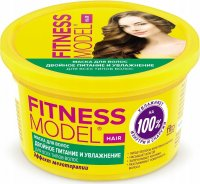 Fito Cosmetic - FITNESS MODEL - DOUBLE NOURISHMENT AND HYDRATION HAIR MASK - Nourishing and moisturizing hair mask - 250 ml