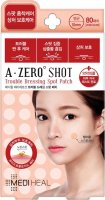MEDIHEAL - A-Zero Shot Trouble Dressing Spot Patch - Hydrocolloid slices for imperfections - 80 pieces