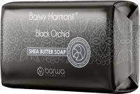 COLOR - COLOR OF HARMONY - Shea Butter Soap - BLACK ORCHID - Bar soap for face and body - 190 g