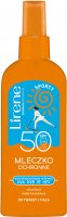 Lirene - SPORTY - Protective milk for face and body - SPF 50 - 150 ml