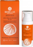 BASICLAB - PROTECTICUS - Light protective face cream - Prevention and Antioxidation - SPF 50+ - 50 ml