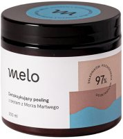 Melo - Detoxifying face and body scrub with Dead Sea mud - 200 ml