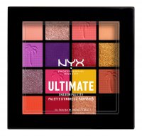 NYX Professional Makeup - ULTIMATE SHADOW PALETTE - Palette of 16 eyeshadows - 13 FESTIVAL