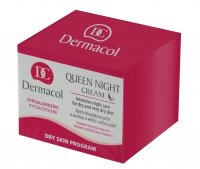 Dermacol - Queen Night Cream - Revitalizing - NUTRITION AND REGENERATION