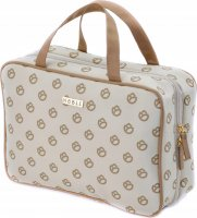 NOBLE - Travel toiletry bag - Organizer with a hook - GOLD GL004
