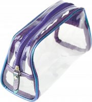 NOBLE - Small transparent cosmetic bag for the plane - ST005