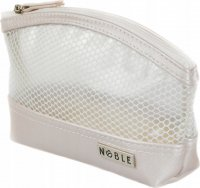 NOBLE - Small transparent cosmetic bag - STRIPE ST008