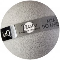 LaQ - Fizzing bath ball with active carbon - For men - 100 g