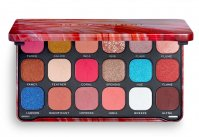 MAKEUP REVOLUTION - FOREVER FLAWLESS SHADOW PALETTE - Palette of 18 eyeshadows - FLAMBOYANCE FLAMINGO