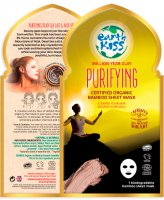 Earth Kiss - Million Year Clay Purifying Bamboo Sheet Mask - Cleansing clay sheet mask