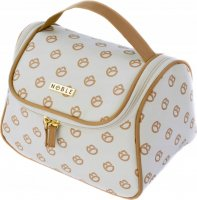 NOBLE - Women's fold-out toiletry bag - Trunk - Gold GL002