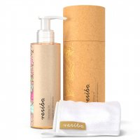 Resibo - Cleansing Oil - Make-up removing oil + microfiber cloth - 150 ml