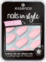 Essence - Nails in Style - Glazed Nudes - Self-adhesive tips - 08 Get Your Nudes On - 12 pcs.