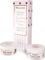 Nacomi - Smoothing Blueberry Relax - Set of cosmetics for washing and body care - Body mousse 100 ml + Peeling foam 100 ml - Blueberry Dream