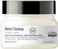 L'Oréal Professionnel - SERIE EXPERT - METAL DETOX - PROFESSIONAL MASK - Hair mask neutralizing metals and protecting after coloring - 250 ml