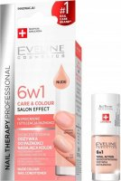 Eveline Cosmetics - NAIL THERAPY PROFESSIONAL - Color Nail Conditioner - 6in1 color nail conditioner - 5 ml - Nude