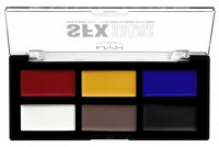 NYX Professional Makeup - SFX CREME COLOR Face & Body Paint - Palette of 6 face and body paints - PRIMARY