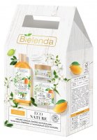 Bielenda - ECO NATURE - Gift set of cosmetics for dry and dehydrated skin - Moisturizing and soothing micellar water 500 ml + Moisturizing and soothing cream 50 ml